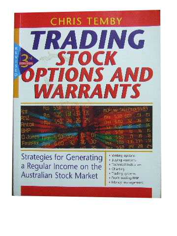 Image for Trading Stock Options and Warrants  Strategies for Generating a Regular Income on the Australian Stock Market