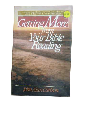 Image for Getting More from Your Bible Reading.