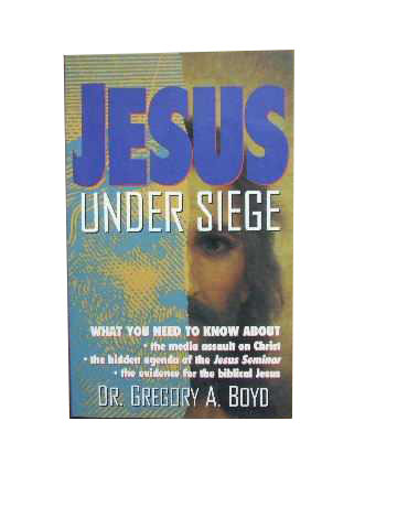 Image for Jesus Under Siege.