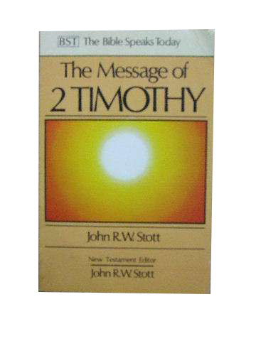 Image for The Message of 2 Timothy  .. Guard the Gospel.