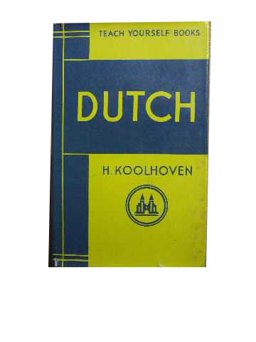 Image for Teach Yourself Dutch.