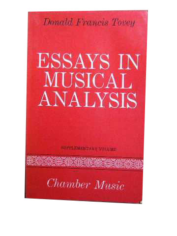 Image for Essays in Musical Analysis - Chamber Music.
