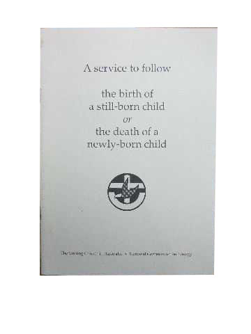 Image for A service to follow the birth of a still-born child or the death of a newly-born child.