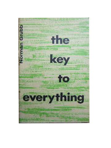 Image for The Key to Everything.