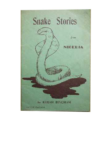 Image for Snake Stories from Nigeria.