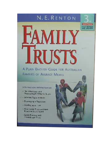 Image for Family Trusts  A Plain English Guide for Australian  Families of Average Means