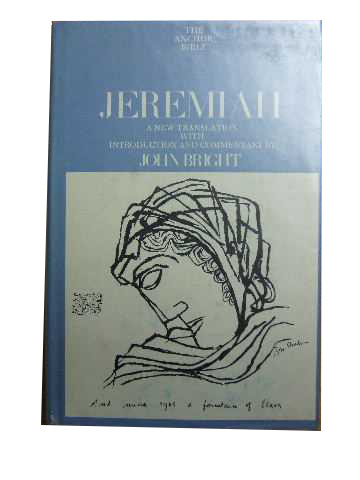 Image for Jeremiah  The Anchor Bible