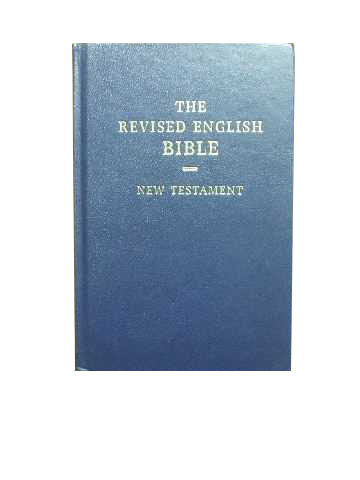 Image for The Revised English Bible New Testament.