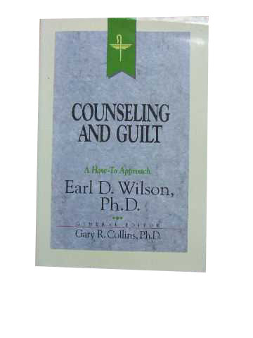 Image for Counseling and Guilt  Resources for Christian Counselling