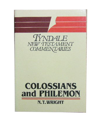 Image for The Epistles of Paul to the Colossians and to Philemon  An Introduction and Commentary