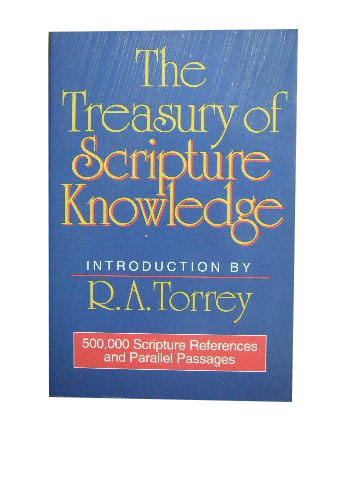 Image for The Treasury of Scripture Knowledge.