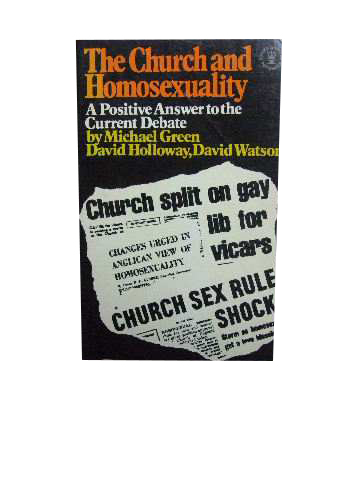 Image for The Church and Homosexuality  A positive answer to current questions