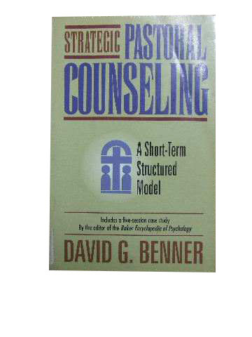 pastoral care and counselling lynch gordon