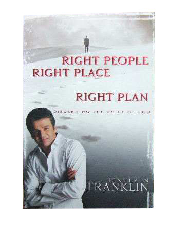 Image for Right People Right Place Right Plan  Discerning the Voice of God