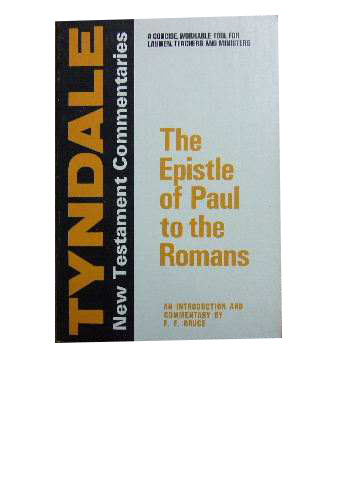 Image for The Epistle of Paul to the Romans  An Introduction and Commentary
