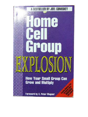 Image for Home Celll Group Explosion  How your small group can grow and multiply