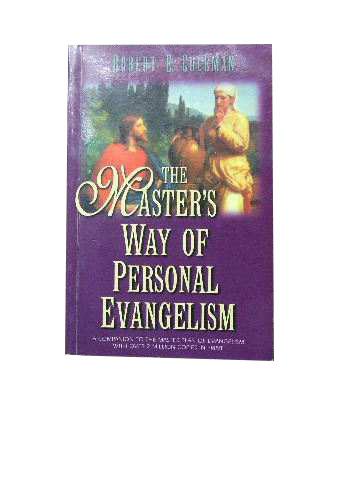 Image for The Master's Way of Personal Evangelism.