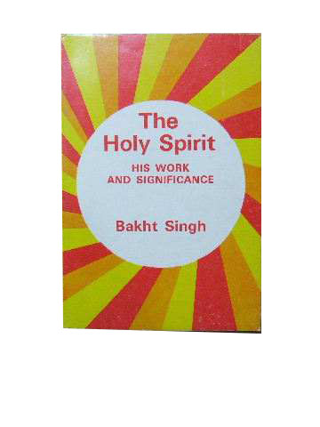 Image for The Holy Spirit  His work and significance