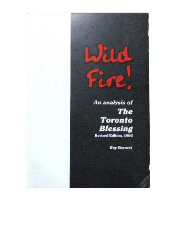 Image for Wild Fire!  An Analysis of the Toronto Blessing