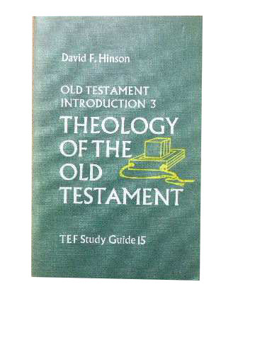 Image for Theology of the Old Testament  (Old Testament Introduction 3 - TEF Study Guide 15)