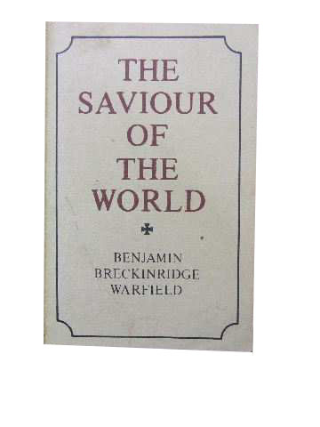 Image for The Saviour of the World  Sermons preached in the chapel of Princeton Theological Seminary