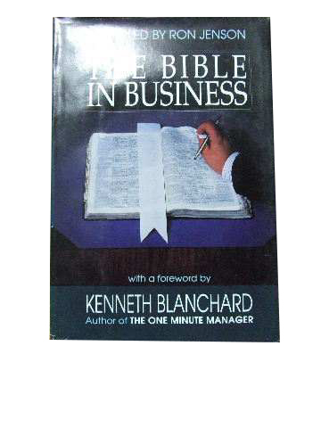 Image for The Bible in Business.