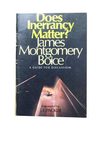 Image for Does Inerrancy Matter