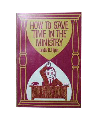 Image for How to Save Time in the Ministry.