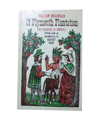 Image for Of Plymouth Plantation: The Pilgrims in America  (edited and with introduction by Harvey Wish)