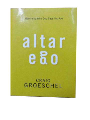 Image for Altar Ego  Becoming who God says you are