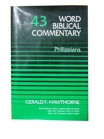 Image for Word Biblical Commentary Vol. 43, Philippians.