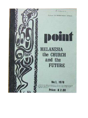 Image for Melanesia, the Churchand the Future.