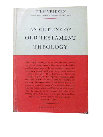 Image for An Outline of Old Testament Theology.