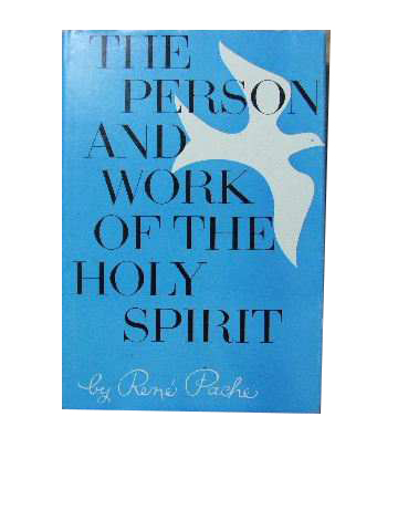 Image for The Person and Work of the Holy Spirit.