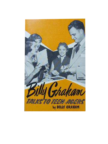 Image for Billy Graham Talks to Teenagers.