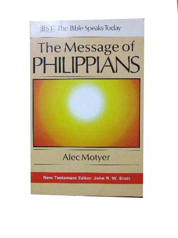 Image for The Message of Philippians.