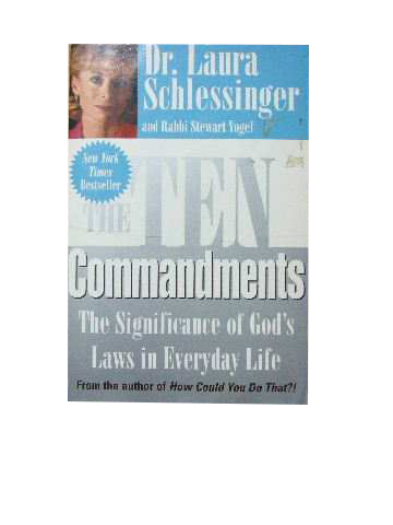 Image for The Ten Commandments  The Significance of God's Laws in Everyday Life