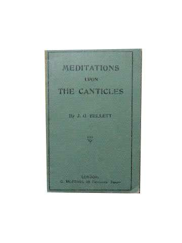 Image for Meditations upon the Canticles.