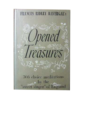 Image for Opened Treasures  Compiled by William J Pell