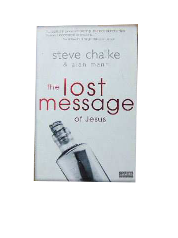 Image for The Lost Message of Jesus.