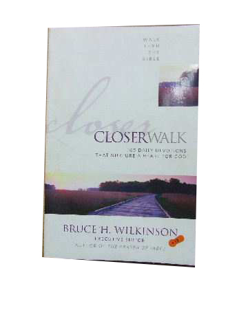 Image for Closer Walk  365 daily devotions that nurture a heart for God