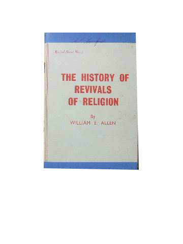 Image for The History of Revivals of Religion  (Revival Series No 7)