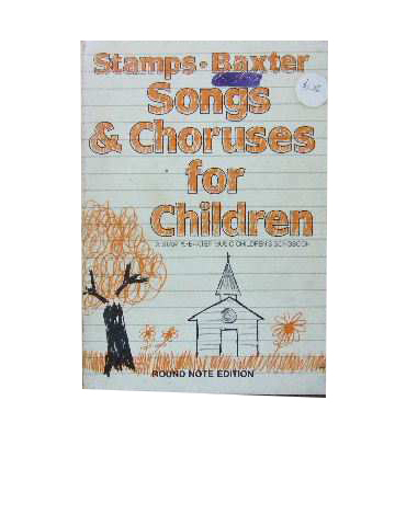 Image for Stamps-Baxter's Songs and Choruses for Children  Music edition