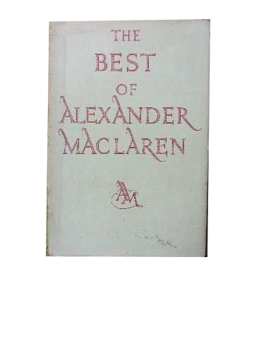 Image for The Best of Alexander MacLaren.