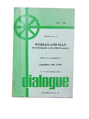 Image for Woman and Man in Christianity  Dialogue magazine New Series Vols. XIX - XX 1992-1993.