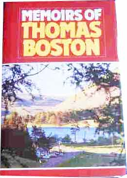 Image for Memoirs of Thomas Boston.