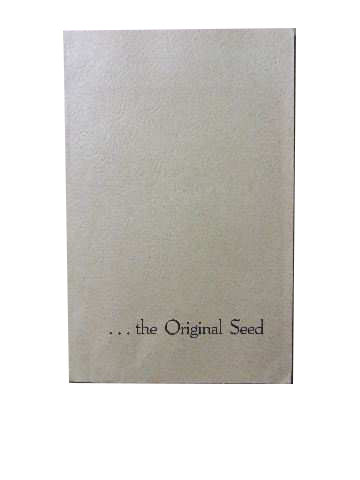 Image for The Spoken Word Is the Original Seed.