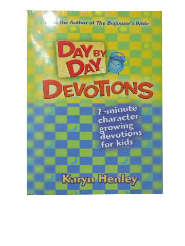 Image for Day by Day Devotions  7-minute character growing devotions for kids