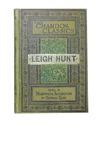 Image for Leigh Hunt as Poet and Essayist  being the choicest passages from his works