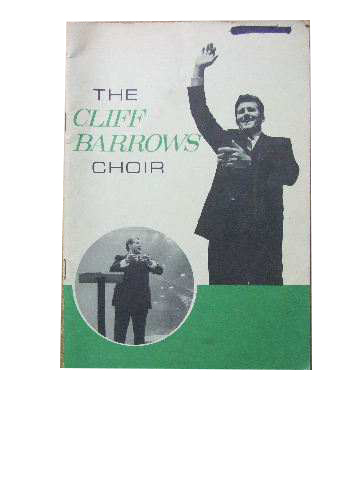 Image for The Cliff Barrows Choir.